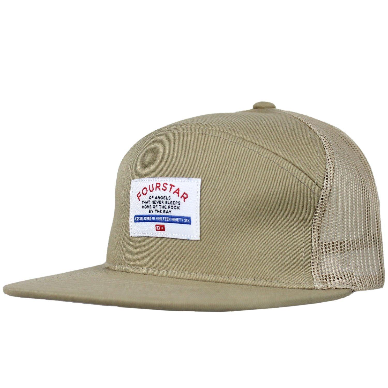 Fourstar Skate sombrero gorra de malla de color caqui: Amazon.es ...