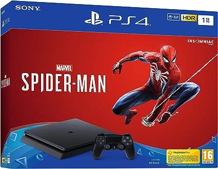 PlayStation 4 (PS4) - Consola de 1 TB + Marvels Spider-Man: Sony ...