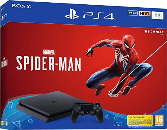 PlayStation 4 (PS4) - Consola de 1 TB + Marvels Spider-Man: Sony ...