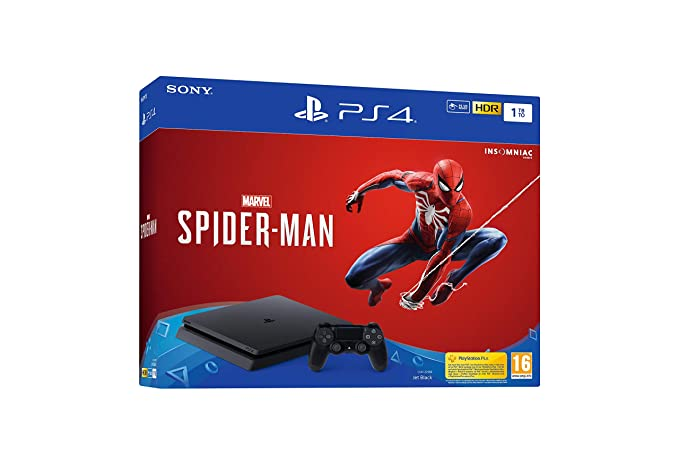 PlayStation 4 (PS4) - Consola de 1 TB + Marvels Spider-Man ...