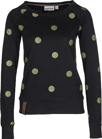 Sweatshirt Naketano Xl Black Glitzikrokette Ii Female 1wq5Uwg