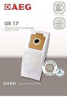 10  Vlies Staubsaugerbeutel passend für AEG Gr 17 AS 201 Vampyrette 2.0