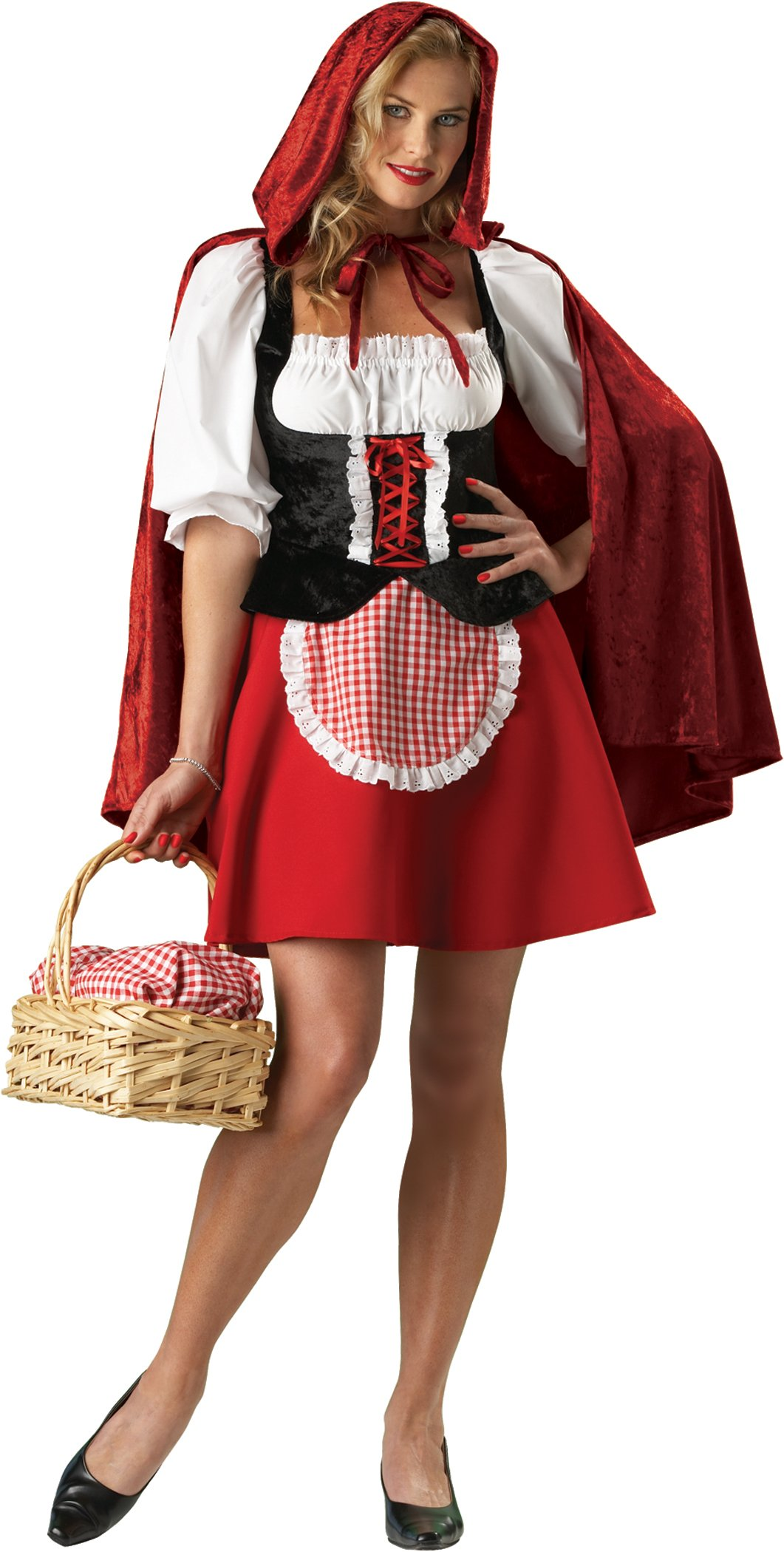 InCharacter Costumes Women's Red Riding Hood Plus Size Costume, Medium by Fun World (Image #1)