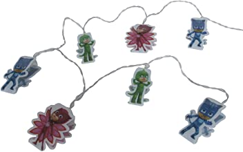 Pj Masks String Lights, Pvc, Multi-coloured