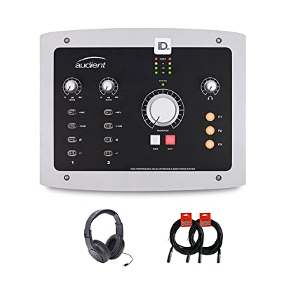 Amazon.com: Audient iD22 - Juego de interfaz de audio USB ...