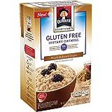 QUAKER Instant Oatmeal, Gluten Free, Maple & Brown Sugar, 8 ct