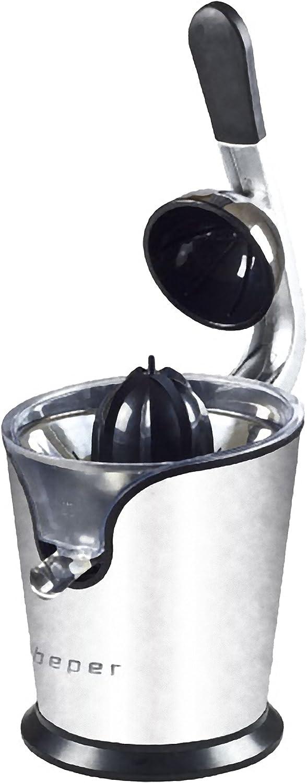 Beper 90.427 – Exprimidor Acero 160 W con palanca de aluminio ...