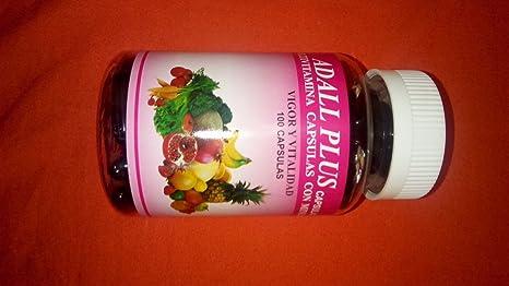Amazon.com: Adall Plus Multivitaminas Capsulas Con Minerales, VIGOR Y VITALIDAD: Health & Personal Care