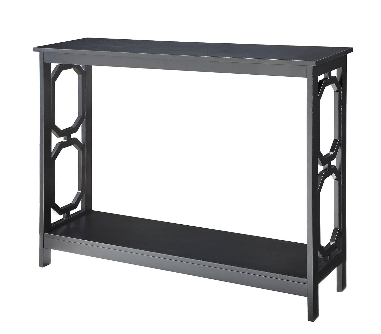Marvelous Amazon.com: Convenience Concepts Omega Console Table, Black: Kitchen U0026  Dining
