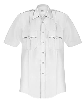 842ae4d08a59 Image Unavailable. Image not available for. Color: Elbeco Men's Plus Poplin Short  Sleeve Shirt