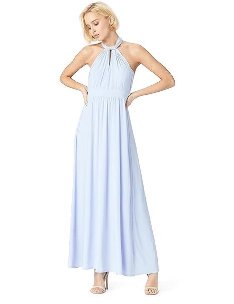 TRUTH & FABLE 13832 Vestido Dama de Honor Mujer, Azul (Kentucky Blue),