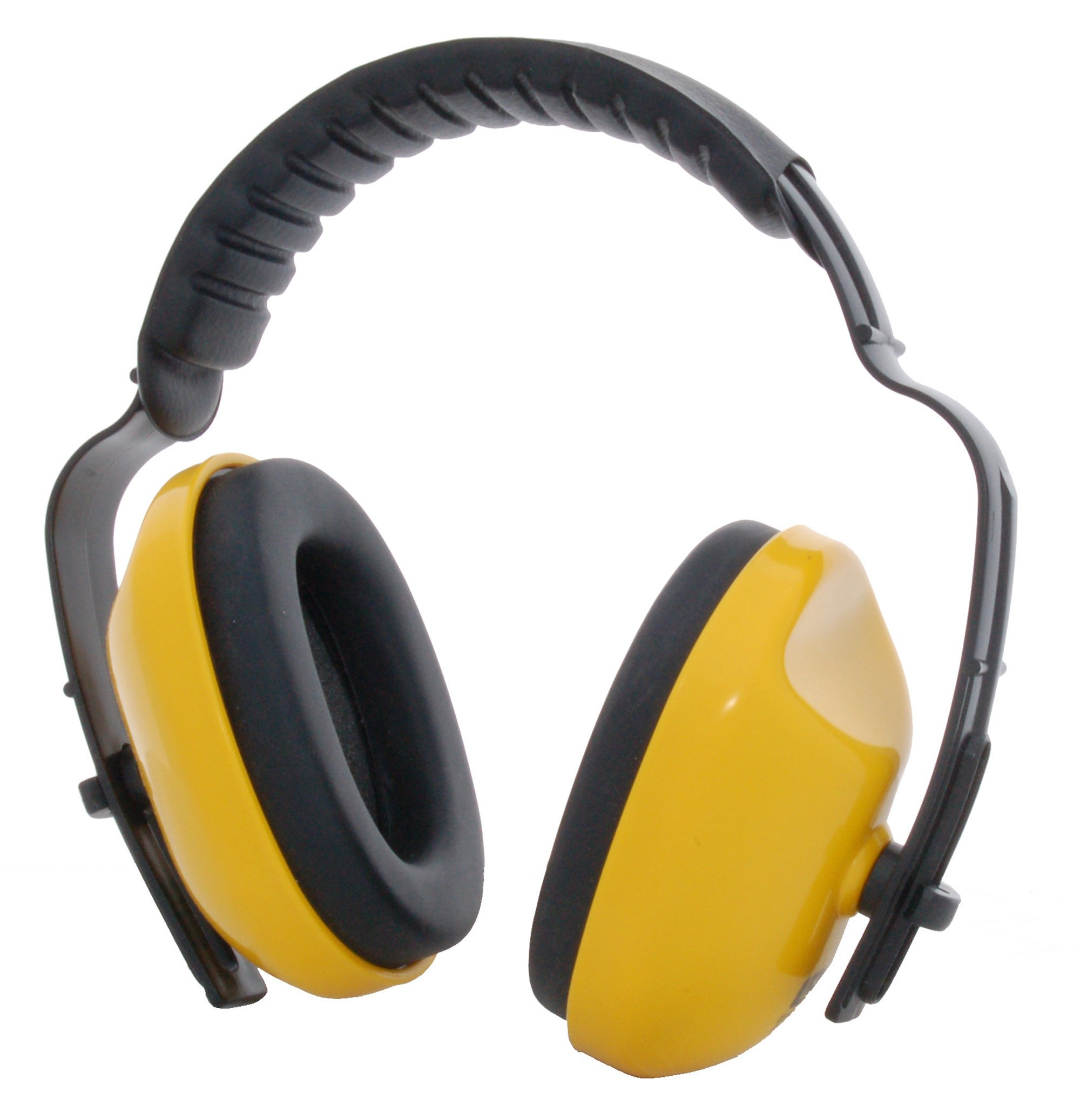 Zenport EM106 Adjustable Headband Ear Muffs, Yellow/Black