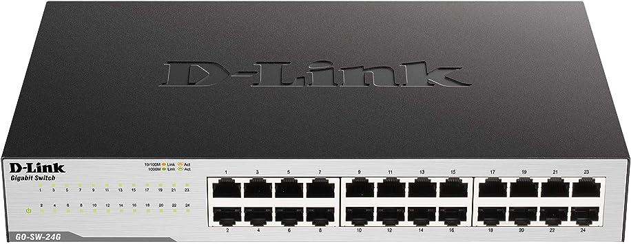 D Link Go Sw 24g Gigabit Easy Desktop Switch Schwarz Computer Zubehör