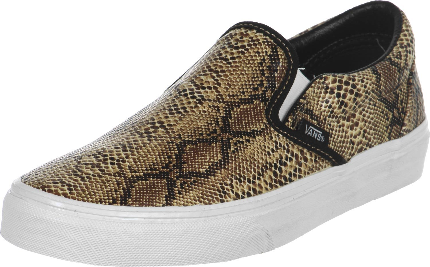 Vans Classic Slip on - Zapatillas Mujer 35.5 EU|Leather/Snake