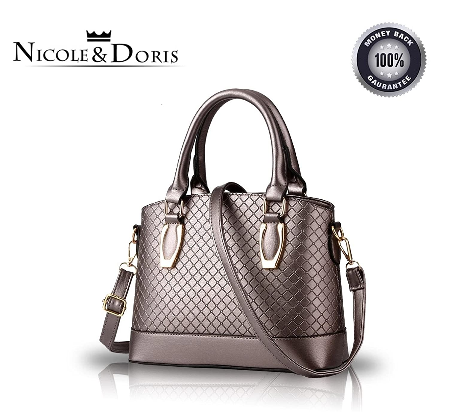 NICOLE&DORIS 2016 new women purse demeanor atmospheric fashion handbags shoulder bag Messenger bags