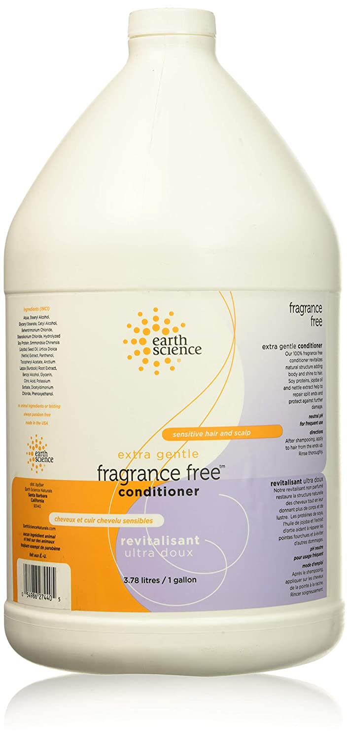 Earth Science Fragrance Free Conditioner, 1 Gallon