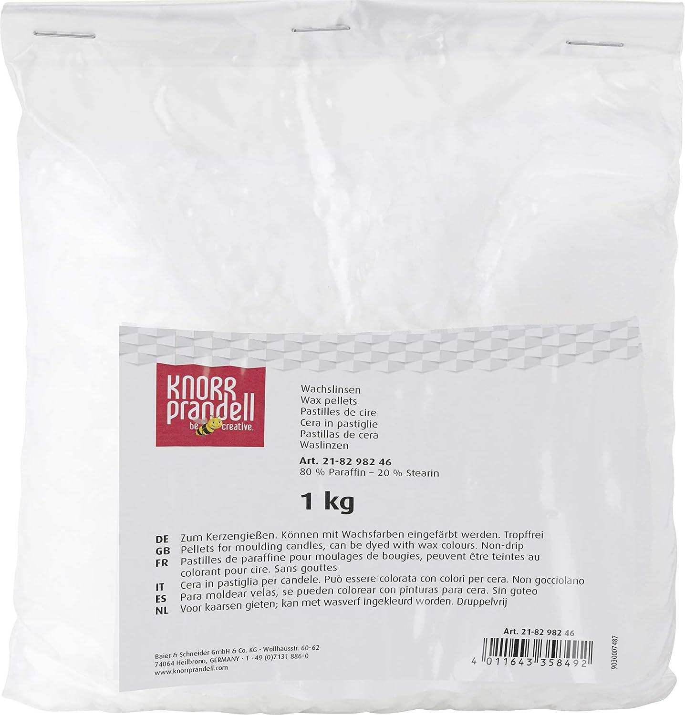 Knorr Prandell 1 Kg Wax Pellets, White 218298246
