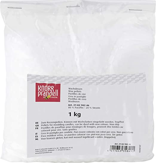 Amazon.com: G?termann / KnorrPrandell 8298246 Wax Beads 1 kg: Health & Personal Care