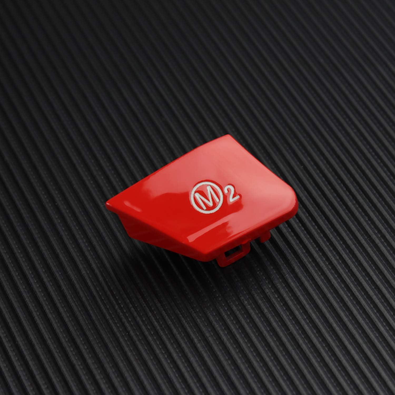 DKMUS Steering Wheel M Button Replace Personalized Mode Button Compatible for BMW 3 Series E90 E92 E93 M3 2007-2013 M-Blue
