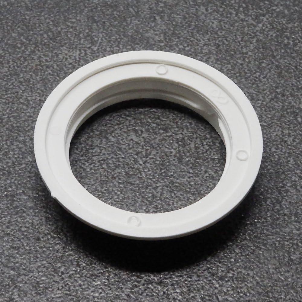 Anillo de rosca E27/Blanco 3/pieza de pl/ástico para l/ámpara de capacidad Anillo con un rosca Gang