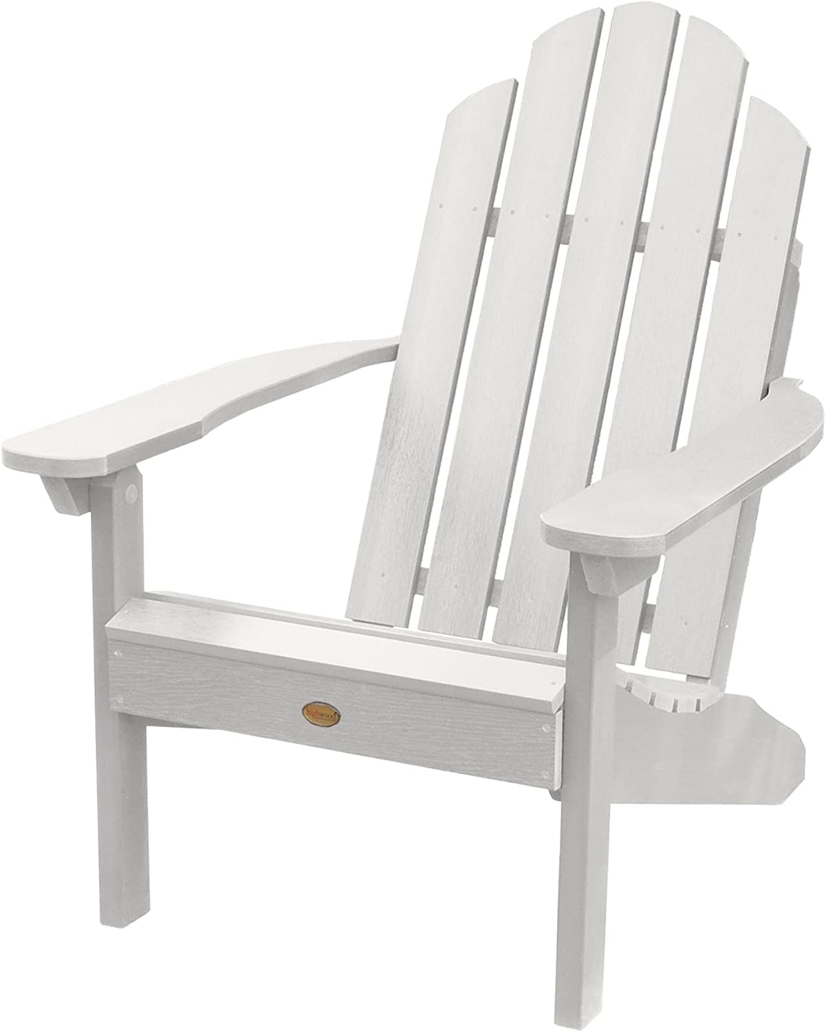 Highwood AD-CLAS1-WHE Classic Westport Adirondack Chair, White