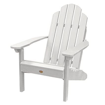Highwood Classic Westport Adirondack Chair, White