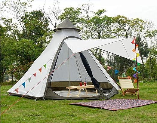 Tienda de Campaña 330*380*240cm Impermeable Ante Lluvia para Cenador para Terraza Jardín Patio - Toldo para Eventos al Abierto, Event Shelter, ienda de Protección UV con Paneles Laterales para Playa, F: Amazon.es: