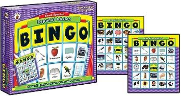 Carson Dellosa Espanol Basico Basic Spanish: Bingo Board Game