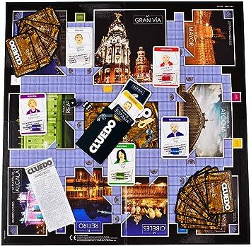 ELEVEN FORCE Cluedo Madrid, Multicolor, Talla Única: Amazon.es: Juguetes y juegos