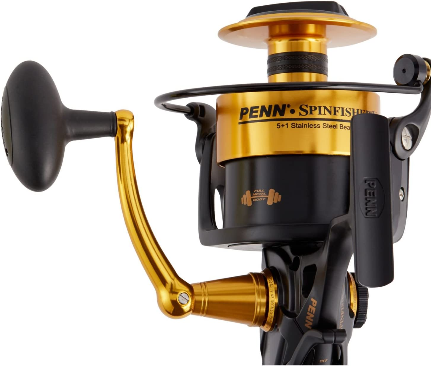 Penn Spinfisher SSV10500 - Carrete de Pesca Frontal (13 kg), Color ...