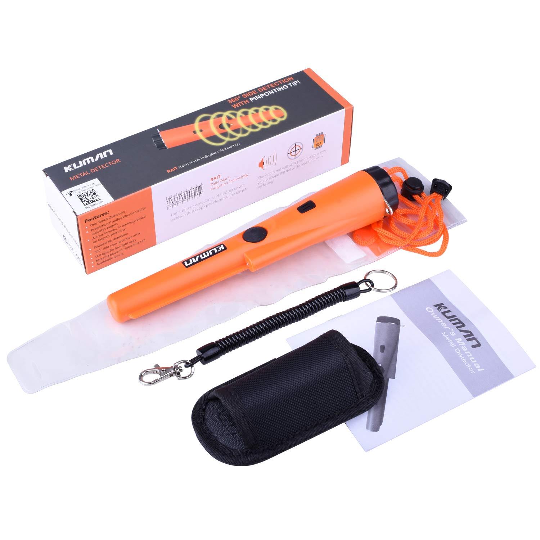 kuman Mini Pinpointer Detector de Metales con Carcasa Impermeable ...
