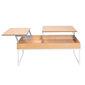 Invicta Interior Funktionaler Design Couchtisch Fabric Eiche Weiss