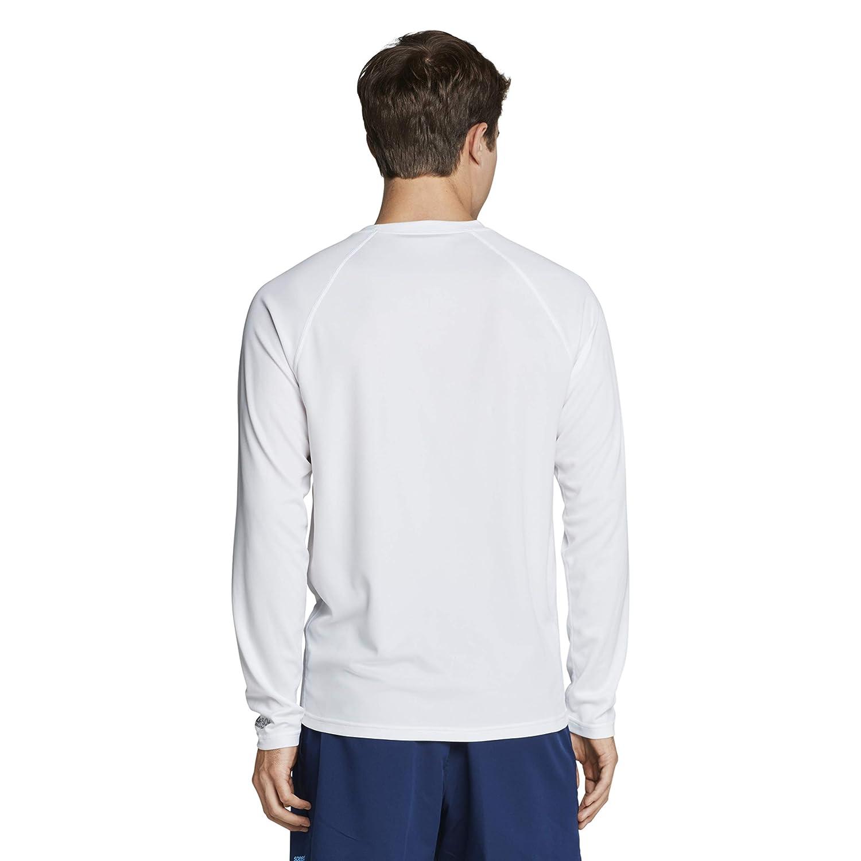 Speedo Mens Uv Swim Shirt Easy Long Sleeve Regular Fit