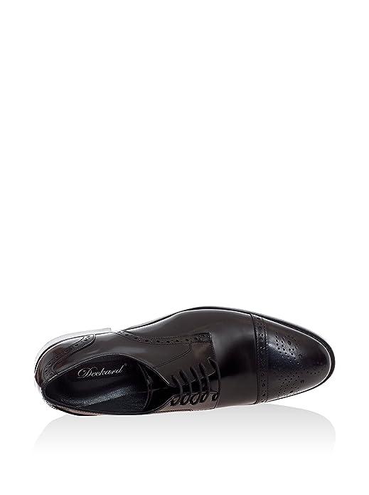 Deckard Derby Schwarz EU 42: : Schuhe & Handtaschen