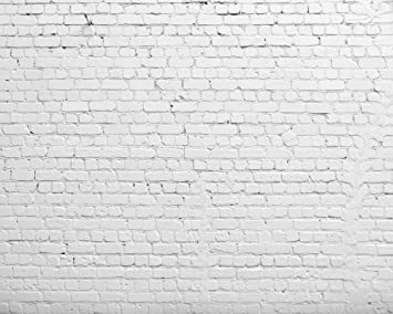 Huayi 8x6 5ft Horizontal White Brick Wall Photography Backdrop Vinyl Background For Pictures D 2504 Camera Photo