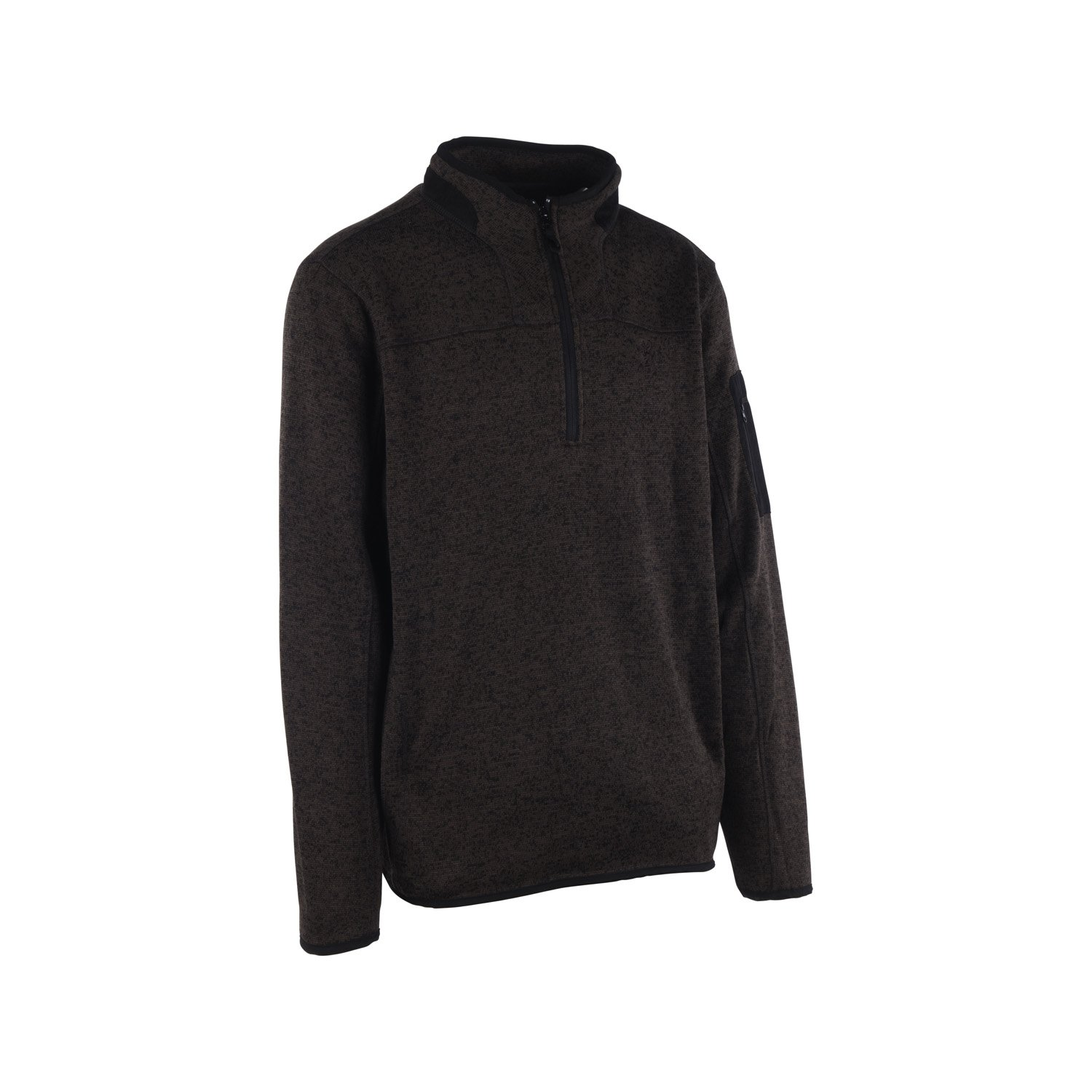 Browning Youth Laredo II 1/4 Pullover (Small, Black)