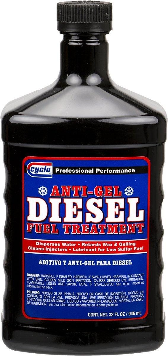 Niteo Cyclo Diesel Anti Gel Fuel Treatment & Injector Cleaner, 32 fl oz, Case of 12