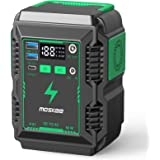 Moskee Portable Power Station 74Wh 20000mAh with 110V (Peak 150w) AC Outlet Camping Solar Generator Lithium Battery Backup Po