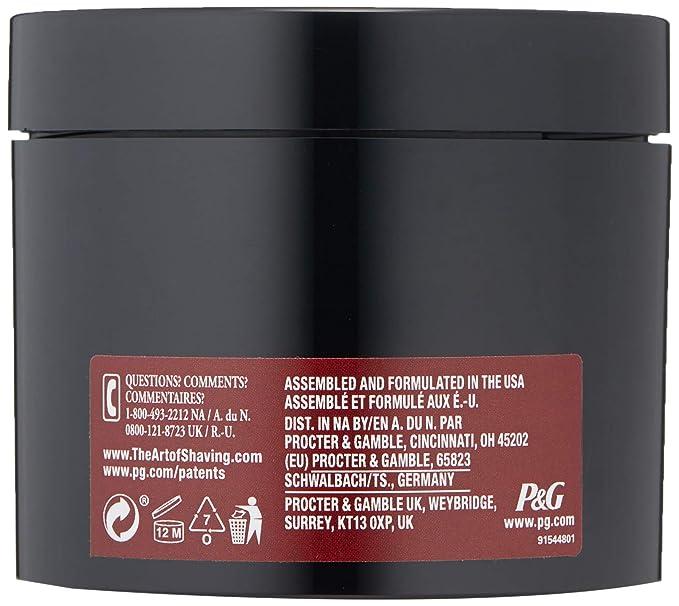 The Art of Shaving Shaving Cream, Sandalwood Essential Oil, for All Skin  Types, 5 0 oz (150 ml)