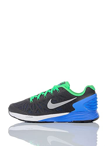 official photos 3a531 6ac33 Image Unavailable. Image not available for. Color  Nike CHILD LUNARGLIDE 6  GS Black Lyon Blue 4 SNEAKERS