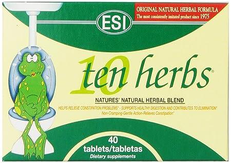 12 PACK – ESI – Ten Herbs Digestive Colon Clea 40 s 12 PACK BUNDLE