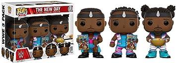 Funko - Figurine WWE - 3 Pack Big E Xavier Woods Kofi Kingston ...