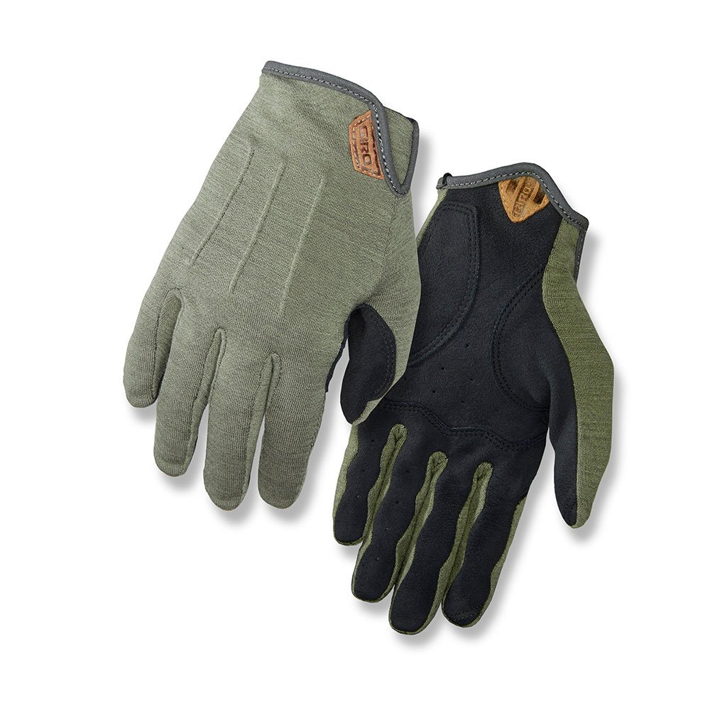 Giro D'Wool MTB Gloves Mil Spec Olive Large by Giro