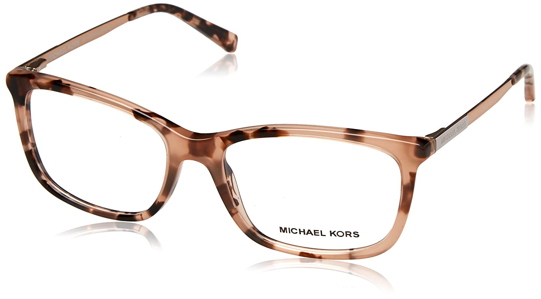 94dbdc3b54c4 Michael Kors VIVIANNA II MK4030 Eyeglass Frames 3162-52 - Pink Tortoise at  Amazon Men s Clothing store