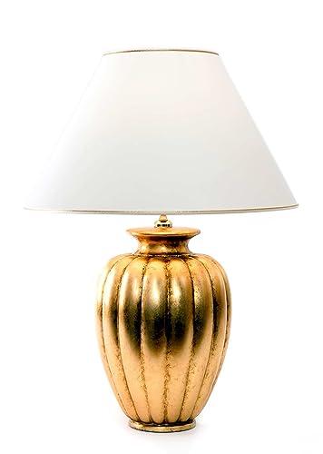 Lámpara de mesa Palazzo Oro Antico de cerámica Antiguo ...