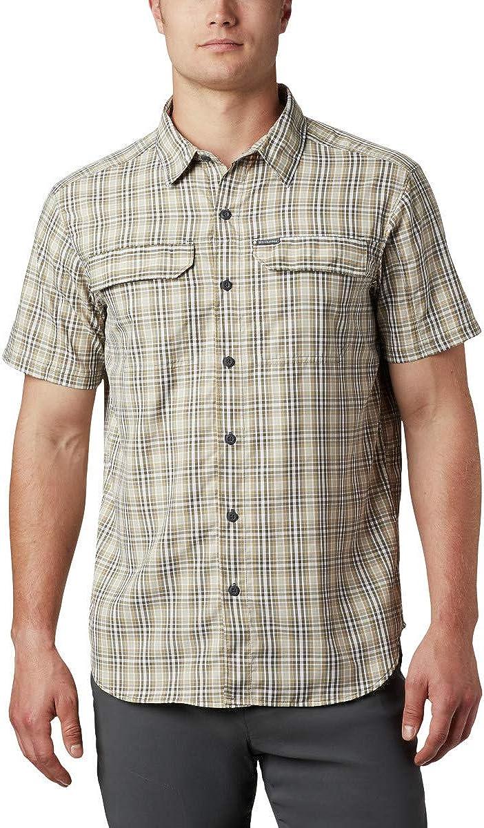 Columbia Men's Silver Ridge 2.0 Multi Plaid Short Sleeve Vented Shirt