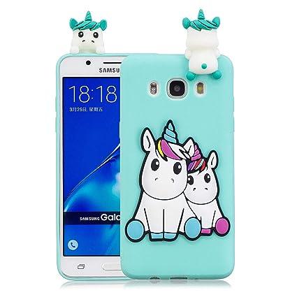 HopMore Funda para Samsung Galaxy J7 2016 (J710) Silicona ...