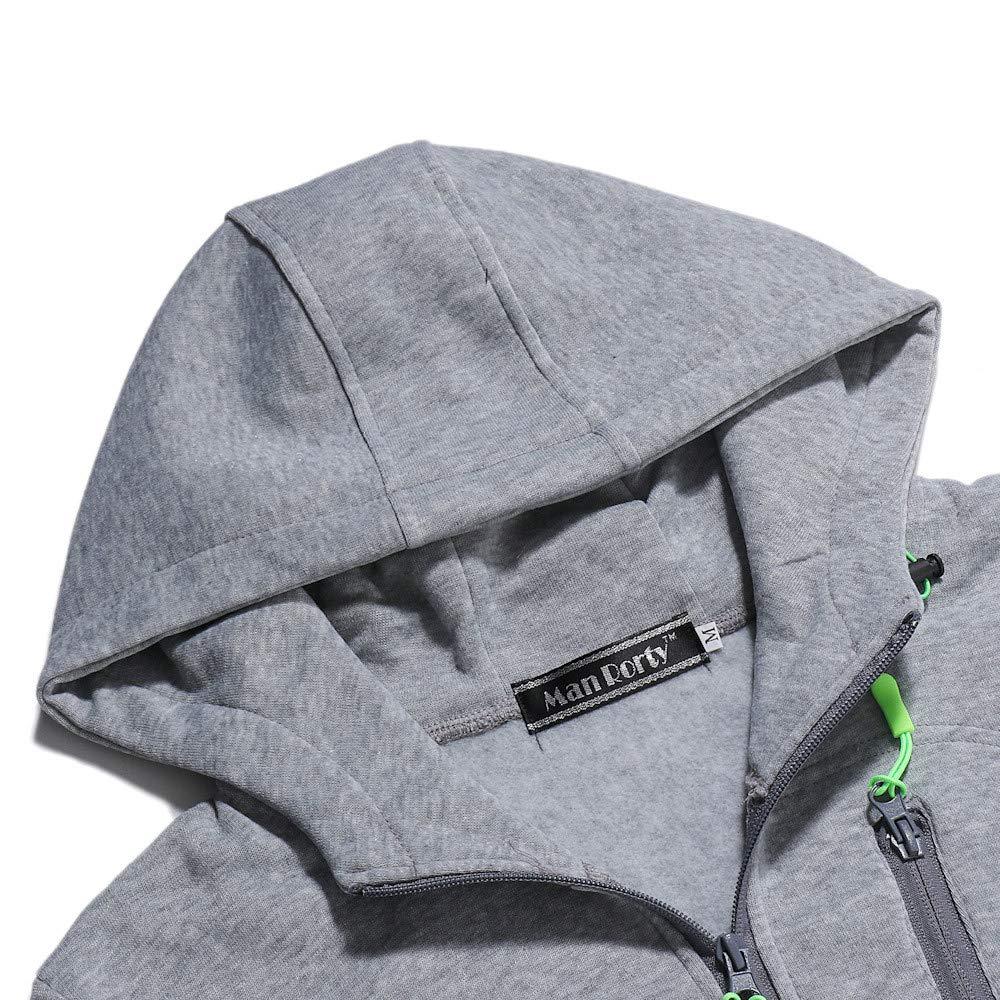 Winsummer Youth Lightweight Zip Up Fleece Hoodie for Teen Boy Girls Mens Zipper Hooded Sweatshirt Hoodies Jacket Coat