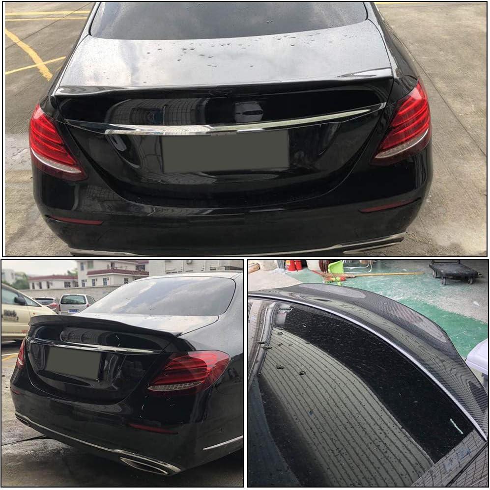 Mercedes E Klasse W213 HECKSPOILER HECKFLÜGEL trunk lid spoiler becquet SCHWARZ