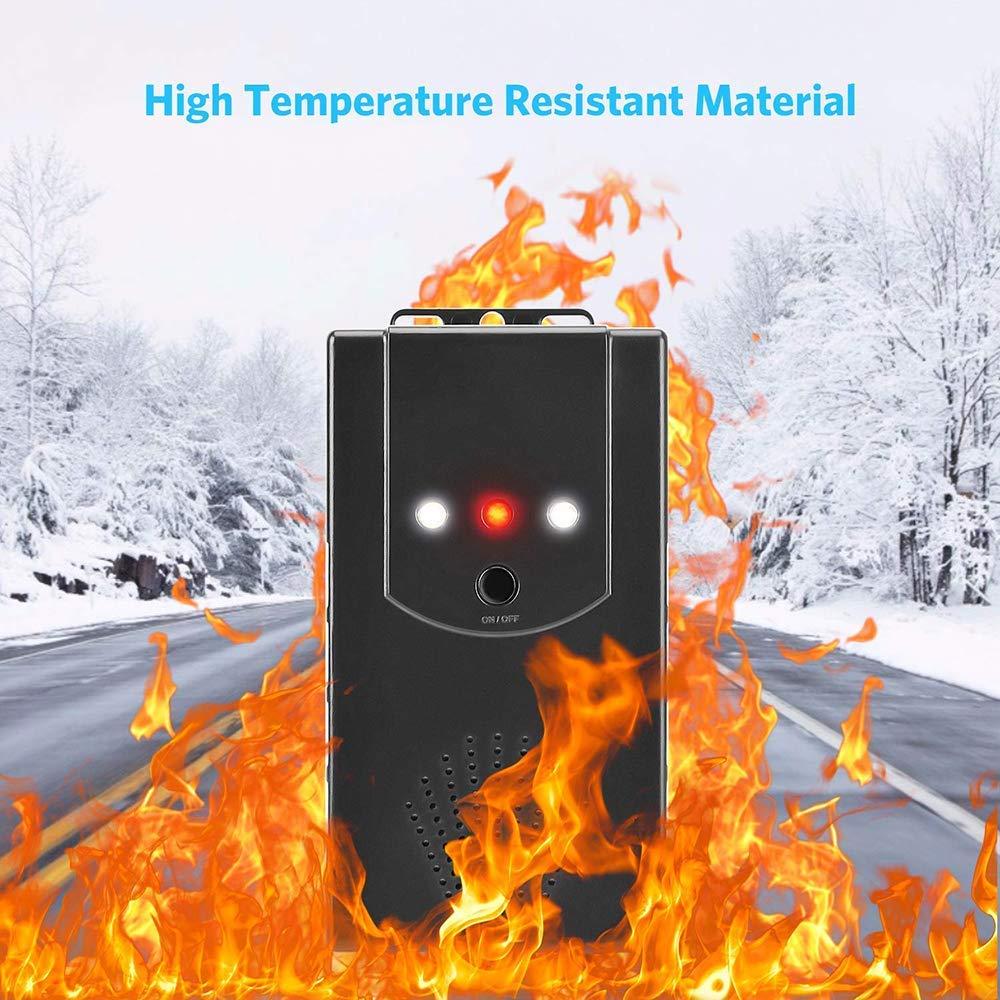 YGL sotto Hood Animal Repeller Repellente ad Ultrasuoni per Roditori per Motori di Automobili Repellente Antiparassitario per Auto